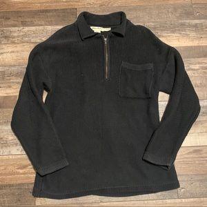 2/$30 Vintage Knit Half Zip Sweater